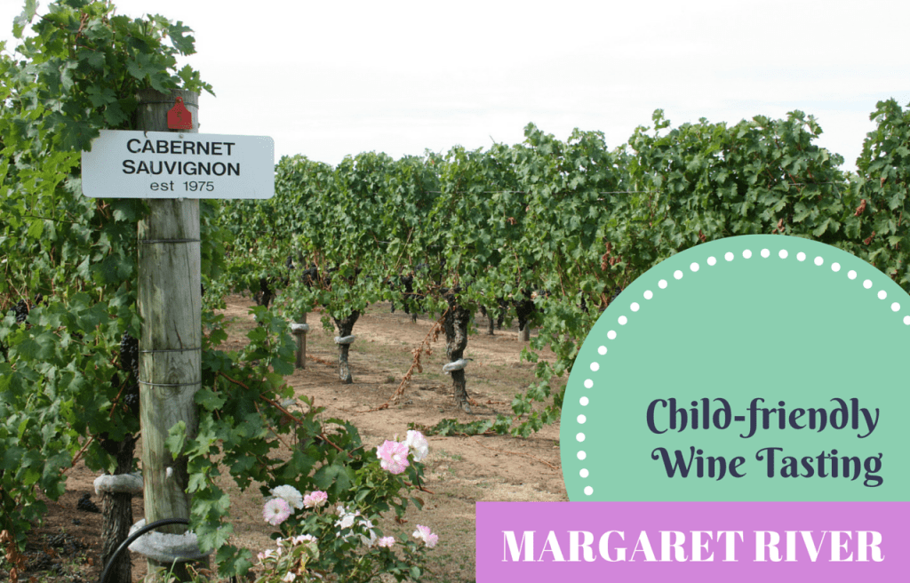 Child-friendly wine tasting Margaret River