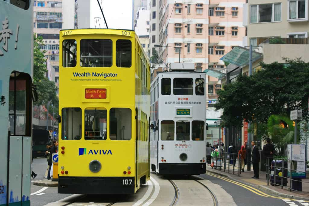 Hong Kong Trams