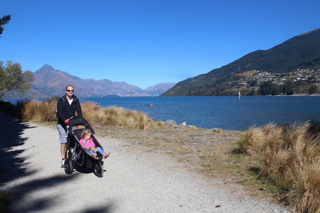 Queenstown walk with kids
