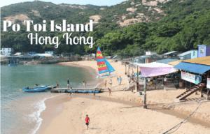Lunching on Po Toi Island, Hong Kong