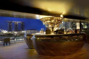 Smoke & Mirrors rooftop bar Singapore