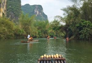 Bamboo Rafting Yangshuo