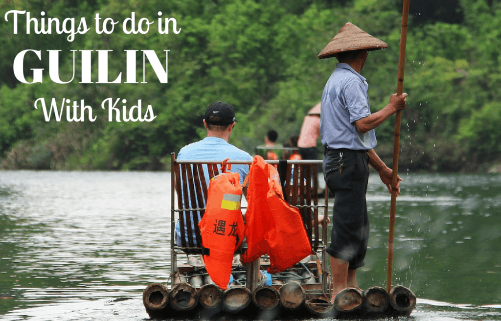 Guilin with kids