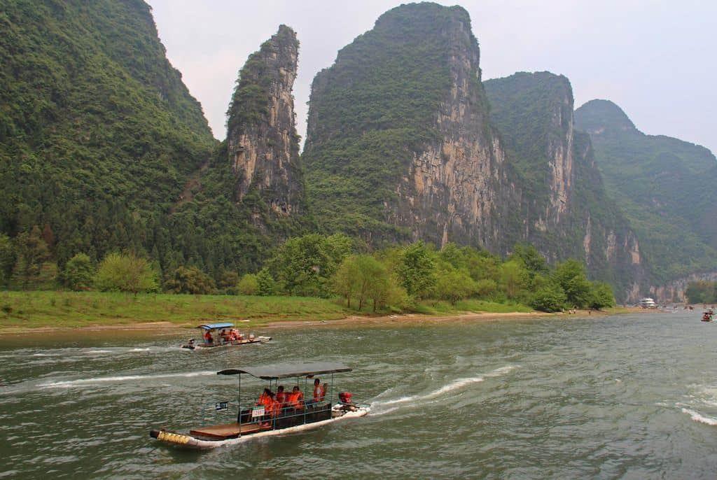 Guilin Yangshuo river cruise