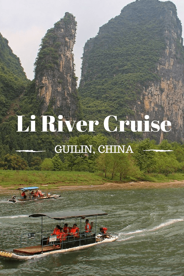 Li River Cruise Guilin to Yangshuo
