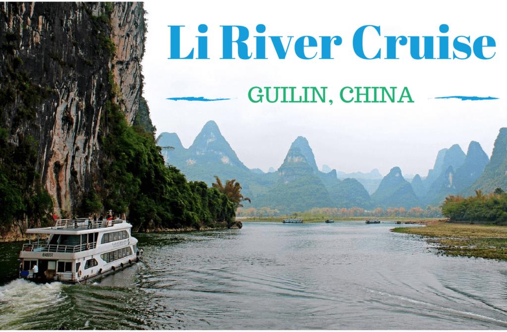 Li River Cruise Guilin Yangshuo