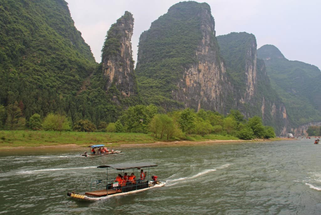 Li River cruise Guilin