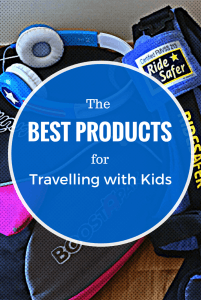 Best products for traveling with kids