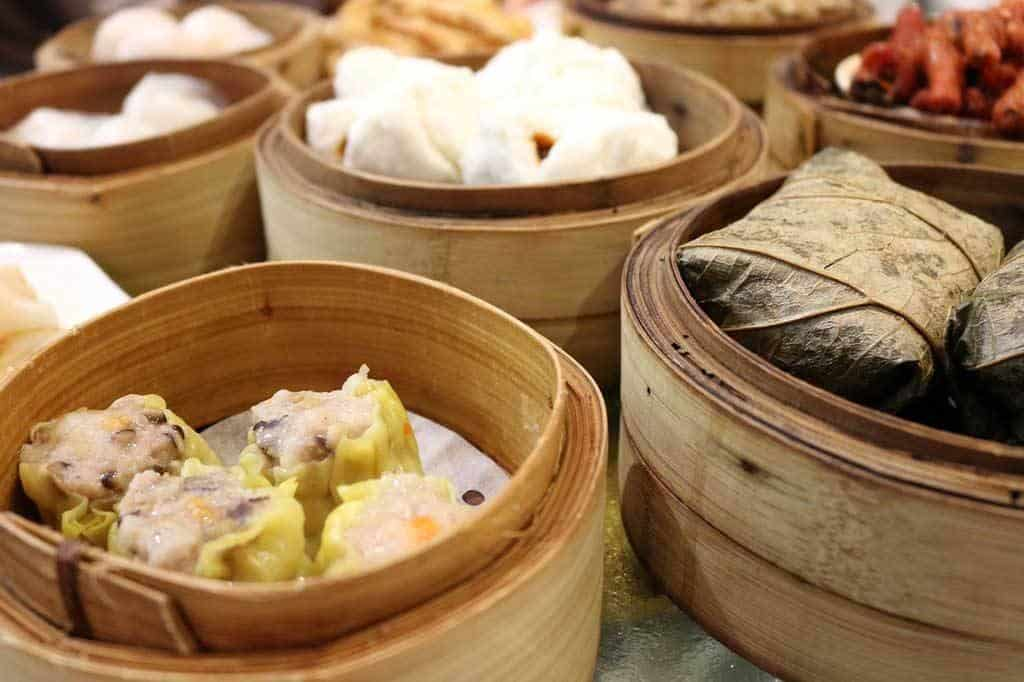 Traditional dim sum Hong Kong