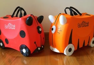Trunki traveling with kids