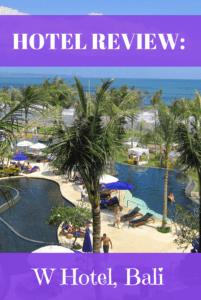 W Hotel Bali Review