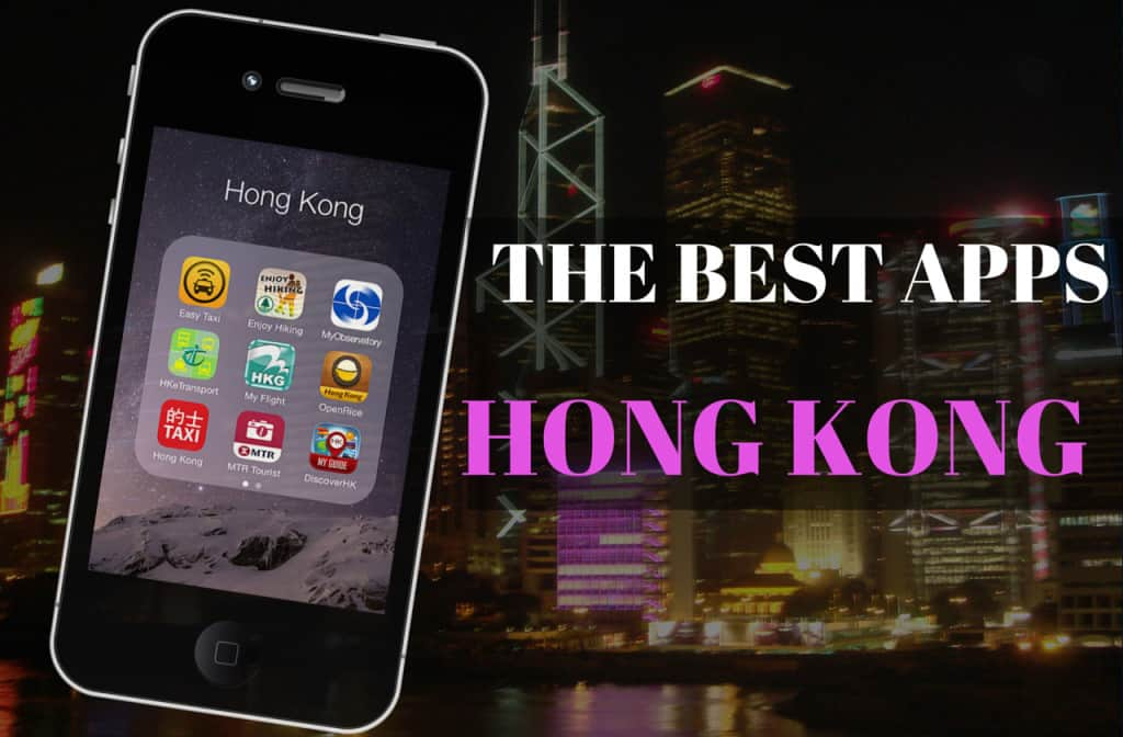 Best iphone apps for visiting Hong Kong