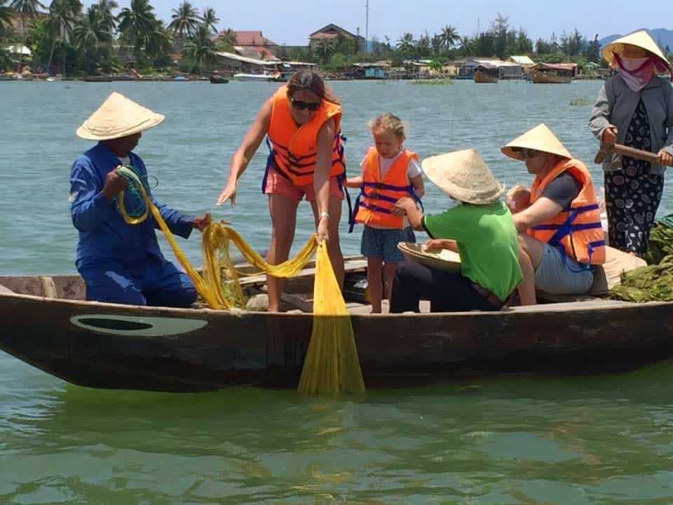 Farming fishing tour in Hoi An Vietnam