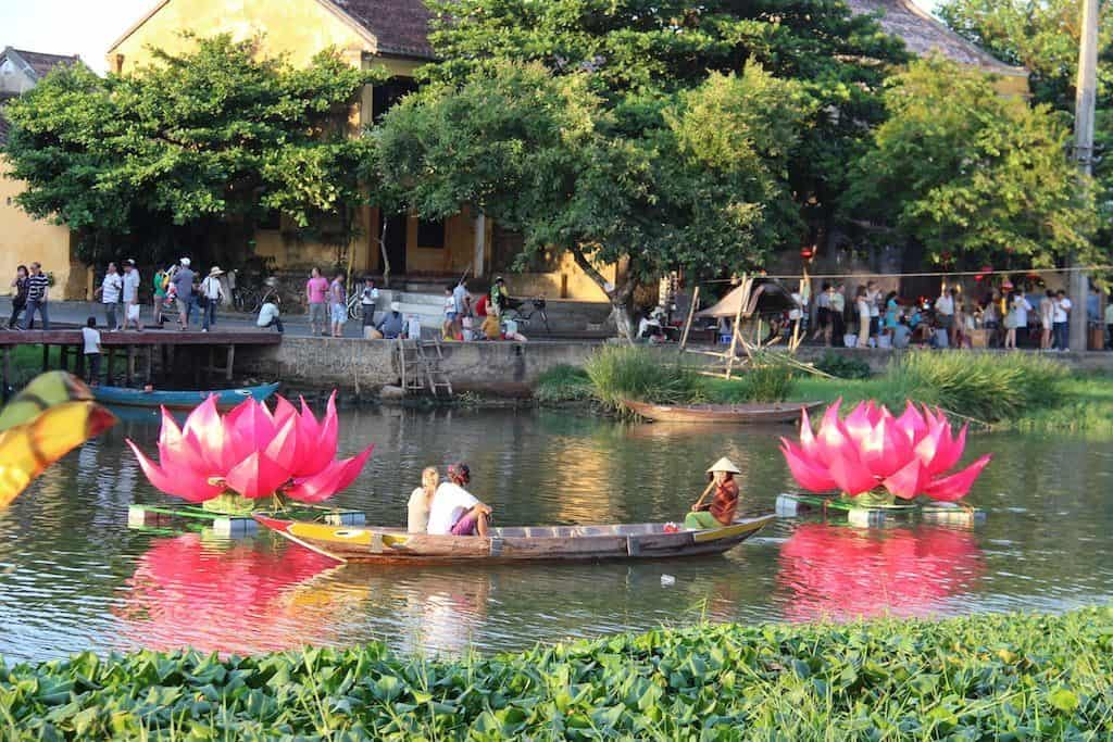 Boat ride Hoi An