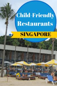 Family friendly restaurants in Singapore