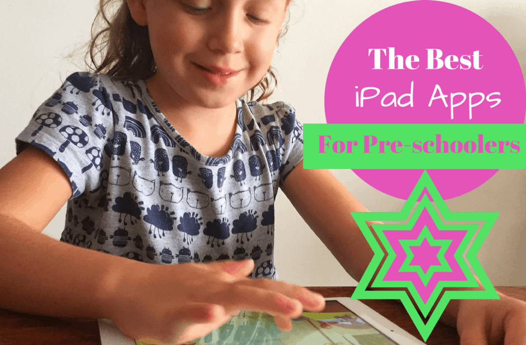 Best ipad apps for pre-schoolers