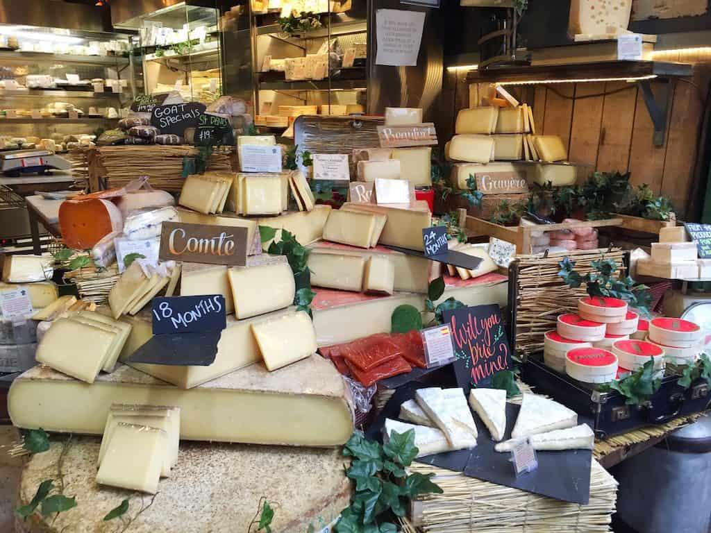 Borough Market cheese shop