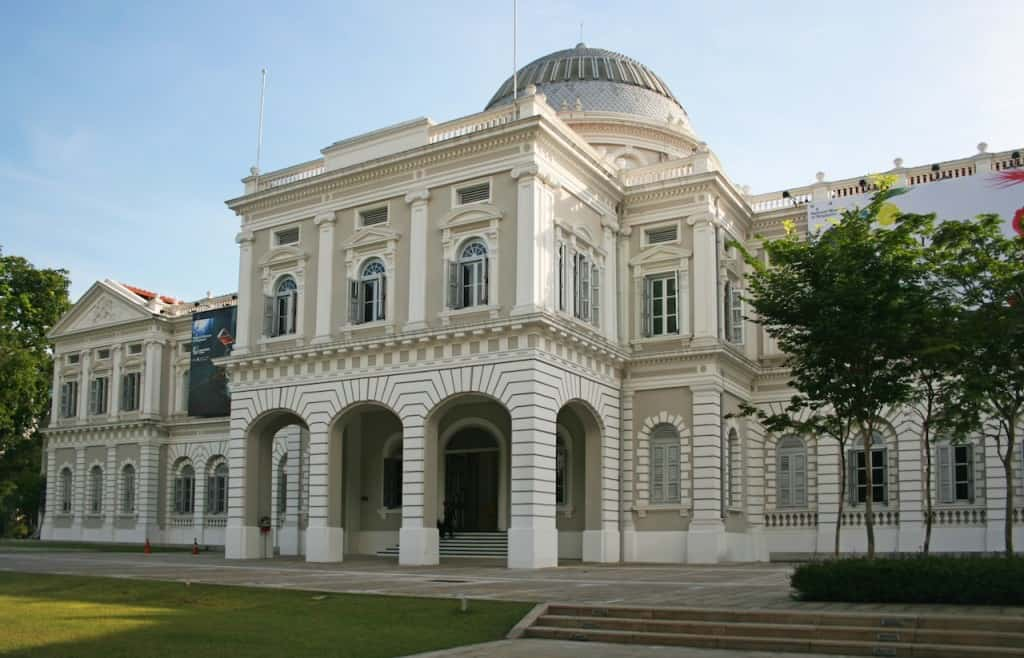 National Museum of Singapore with kids