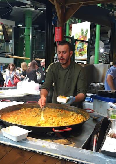 Paella Borough Market