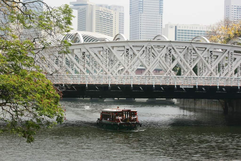 Singapore River Tour with kids
