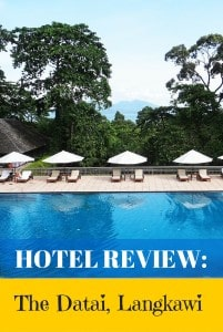 Hotel Review Datai Langkawi