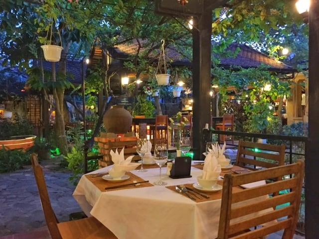Secret Garden Restaurant Hoi An