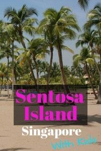 Sentosa island with Kids
