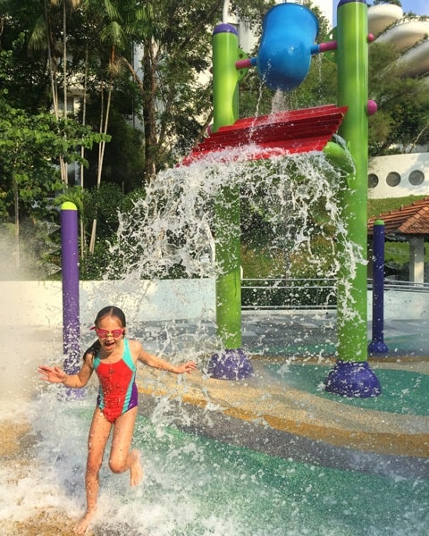 Shangri-La Singapore waterplay