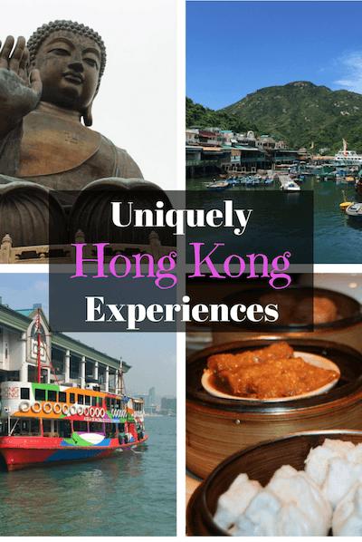 Unique Hong Kong activities