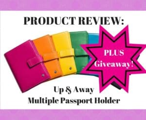 Product Review: Up & Away Multiple Passport Holder
