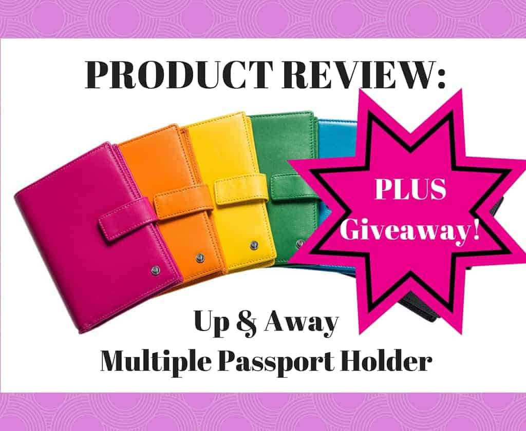 Up & Away Multiple Passport Holder
