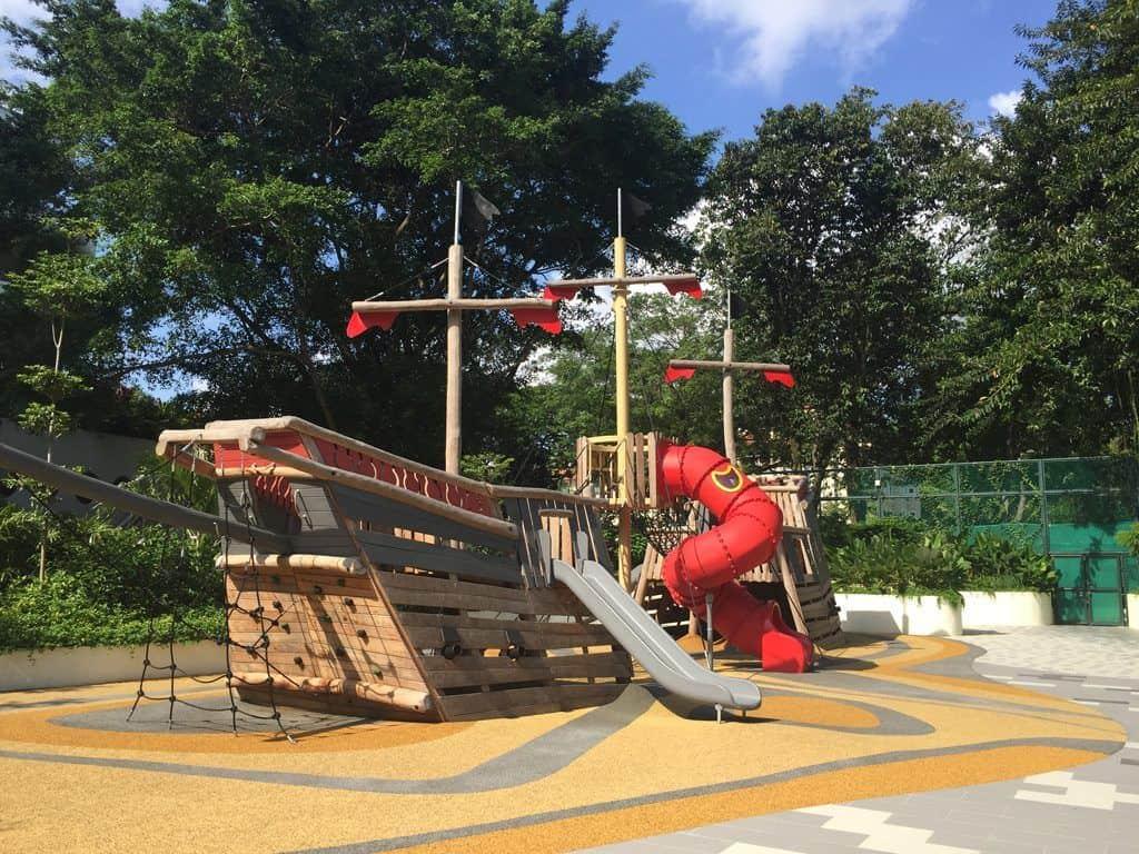 Shangri-La Singapore playground