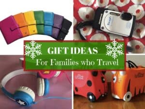 Gift ideas for family travel