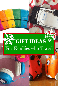 Gifts for families who travel