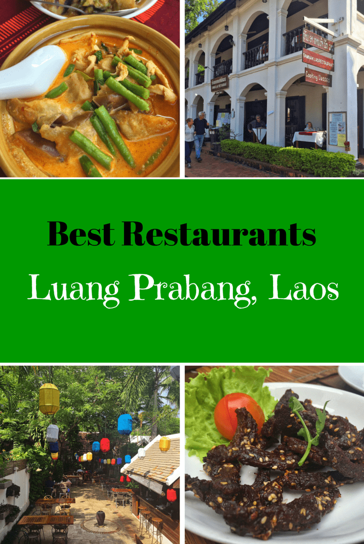 Top  Restaurants In Luang Prabang
