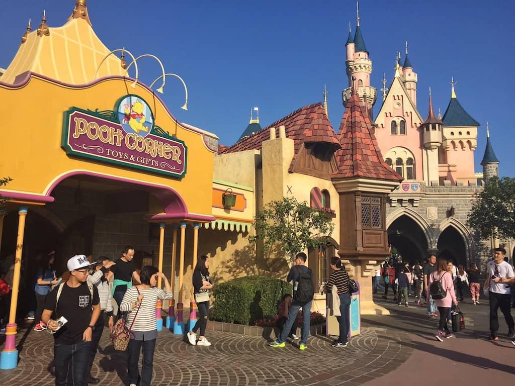 Fantasyland Disneyland Hong Kong