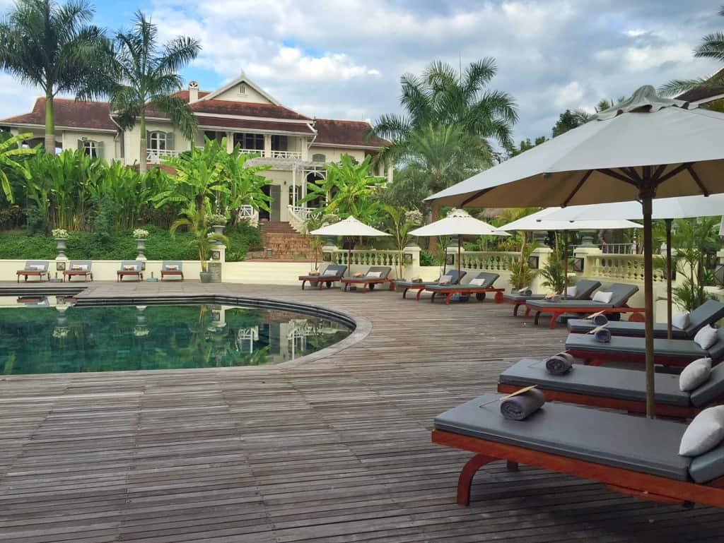 Luang Say Residence swimming pool