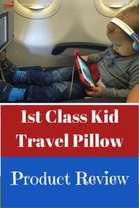 1st Class Kid Travel Pillow Review
