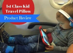 1st Class Kid Travel Pillow Review