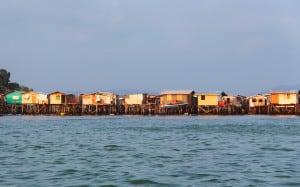 Gaya Island water village