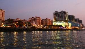 Kota Kinabalu waterfront