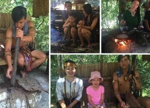 Learning Skills at the Mari Mari Cultural Village