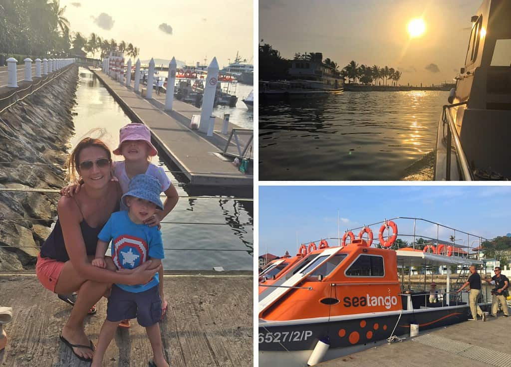 Leaving Sutera Harbour