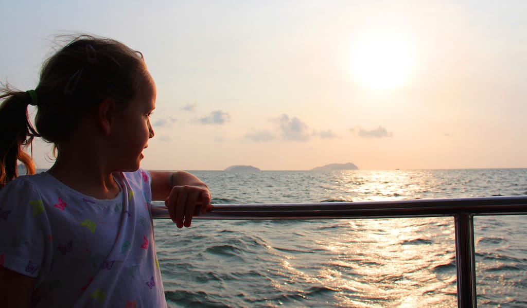 Sunset Cruise borneo