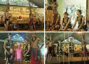 Mari Mari Cultural Village dancers
