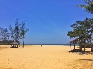 Shangri-La Rasa Ria beach