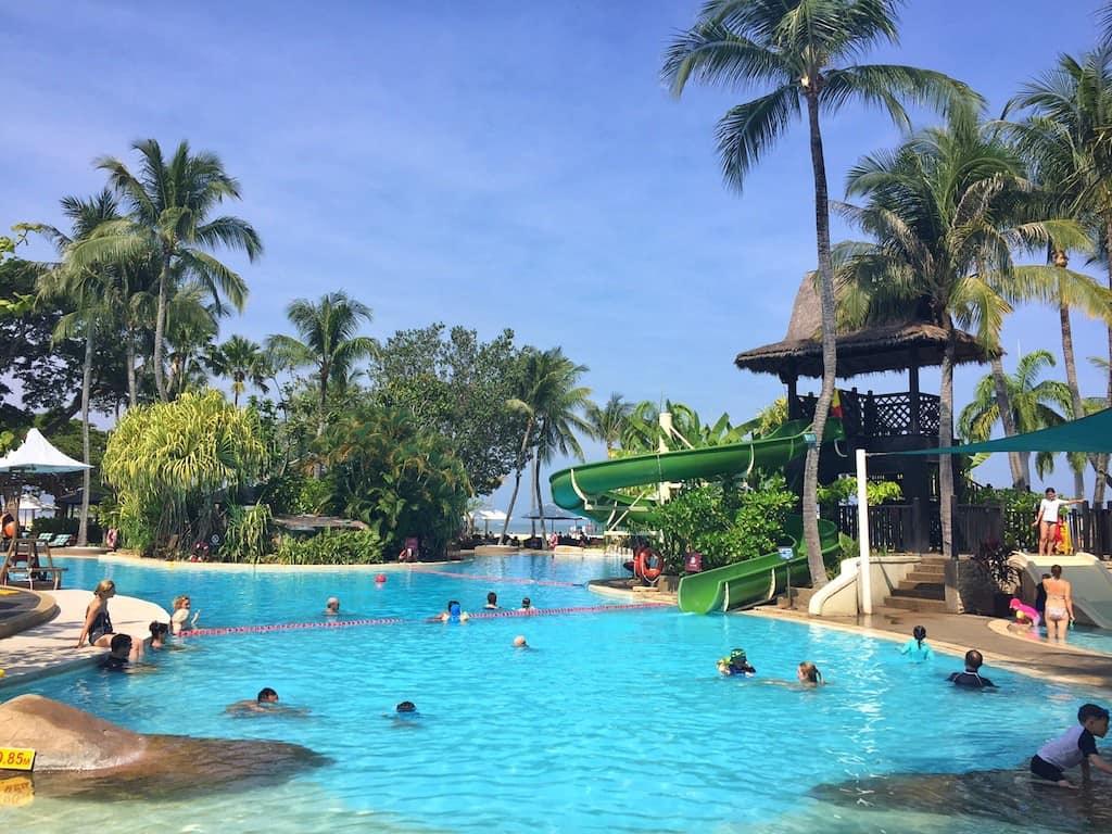 Shangri-La Rasa Ria kids pool