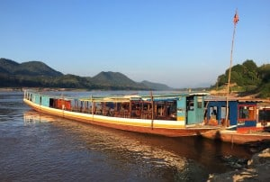 Mekong boat ride Luang Prabang