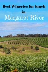 Best wineries for lunch in margaret river