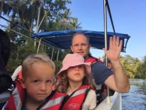 Wildlife boat trip Borneo